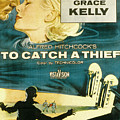 To Catch A Thief, Poster Art, Cary by Everett