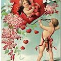 To My Valentine Vintage Romantic Greetings by R Muirhead Art