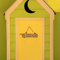 To The Beach - Decorative Outhouse And Sign by Mitch Spence