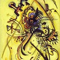 To The Unknown Voice by Kandinsky