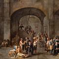 To Visit The Imprisoned  by Cornelis de Wael