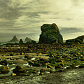 To Walk Alone Along Rocky Shores by Jeff Swan