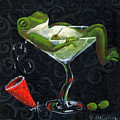 Toadally Under The Influence by Debbie McCulley