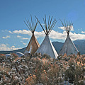 Tee Pees, Taos New Mexico by Judithann O'Toole