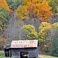 Tobacco Barn by Alan Lenk