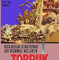 Tobruk Theatrical Poster 1967 Color Added 2016 by David Lee Guss