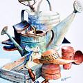 Todays Toil Tomorrows Pleasure II by Hanne Lore Koehler