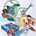 Todays Toil Tomorrows Pleasure IIi by Hanne Lore Koehler
