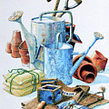 Todays Toil Tomorrows Pleasure Iv by Hanne Lore Koehler