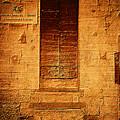 Todi Italy Medieval Door  by Femina Photo Art By Maggie