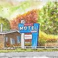 Toiyabe Motel In Walker, California by Carlos G Groppa