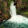 Toketee Falls 4 by Ingrid Smith-Johnsen