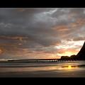 Tolaga Bay Pier II by Andrea Cadwallader