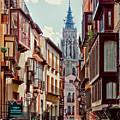 Toledo Cityscape by Claude LeTien