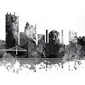 Toledo Ohio Skyline by Marlene Watson