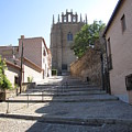 Toledo Steps To Cathedral by John Shiron
