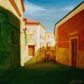 Toledo Street Scene In Toledo Spain by Gary  Hernandez