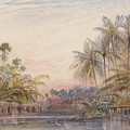 Tollygunge, Calcutta by Edward Lear