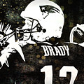 Tom Brady Art by Joann Vitali