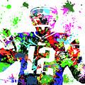 Tom Brady Wall Decor by Joann Vitali