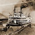 Tom Greene River Boat by Gary Wonning