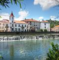 Tomar Cityscape by Carlos Caetano