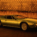 Tomaso Mangusta Mixed Media by Paul Meijering
