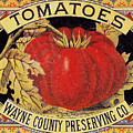 Tomato Can Label by Granger