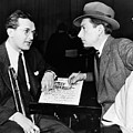 Tommy Dorsey And Hoagy Carmichael, 1939 by Everett