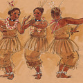 Tonga Dance From Niuafo'ou by Judith Kunzle