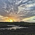 Tonight's Sunset From Thornham by John Edwards