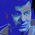 Tony Curtis Circa 1960 Color Added 2012 by David Lee Guss
