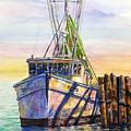 Tonyo Shrimp Boat by Shirley Sykes Bracken