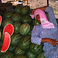 Too Hot To Sell Watermelons by Carl Purcell
