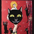 Too Many Black Cats by JoLynn Potocki
