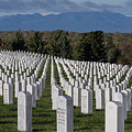 Too Many.. Veteran Cemetery, Santa Fe by Jack Zievis