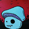 Toothed Zombie Mushroom 2 by Jera Sky