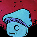 Toothed Zombie Mushroom by Jera Sky