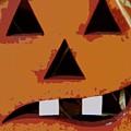 Toothy Pumpkin by Florene Welebny