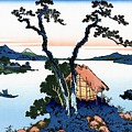 Top Quality Art - Mt,fuji36view-shinshu Suwako by Katsushika Hokusai