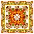 Topaz And Peridot Bling Kaleidoscope by Charmaine Zoe