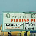 Topsail Island Ocean City 1996 by Betsy Knapp