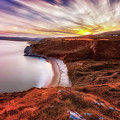 Tor Bay Sunset by Leighton Collins