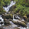 Torc Waterfall In Killarney National by Ken Welsh