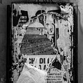 Torn Posters Rome Italy by Edward Fielding