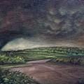 Millsfield Tennessee Tornado From My Backdoor by Randy Burns