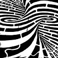 Tornado Maze by Yonatan Frimer Maze Artist
