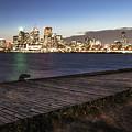 Toronto And Boardwalk by John McGraw