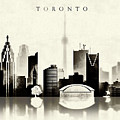 Toronto Black And White by Dim Dom