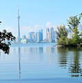 Toronto From The Islands Park by Ian  MacDonald